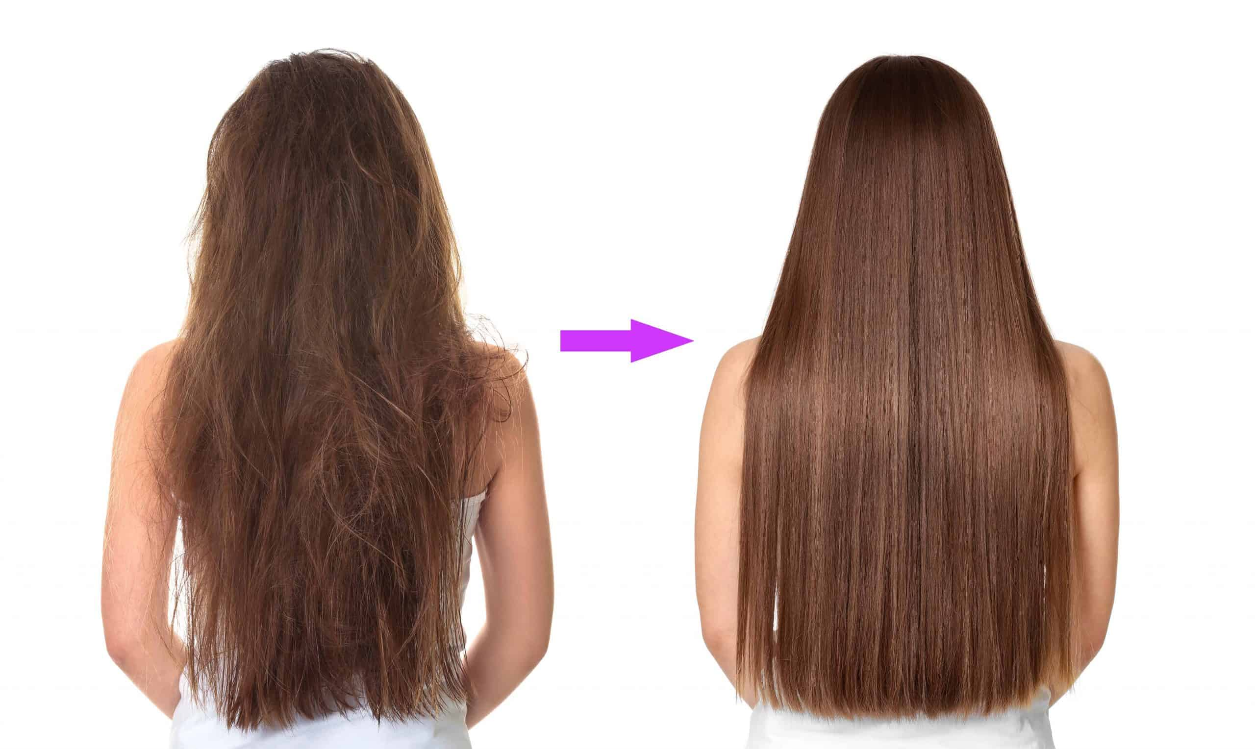 soft and silky hair naturally